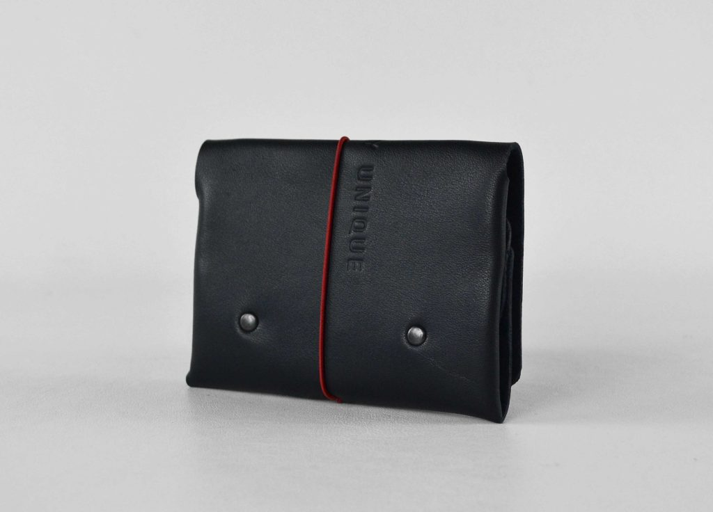 Balck soft leather wallet